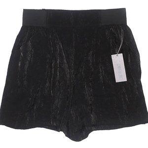 Jennifer Lopez Black High Rise Shorts - NWT